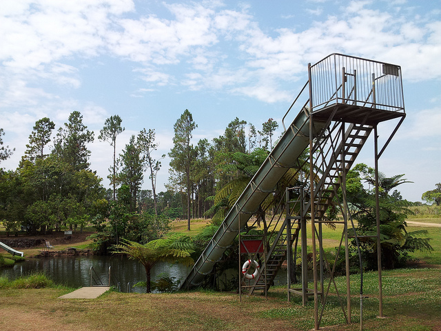 Waterslide at Quinola