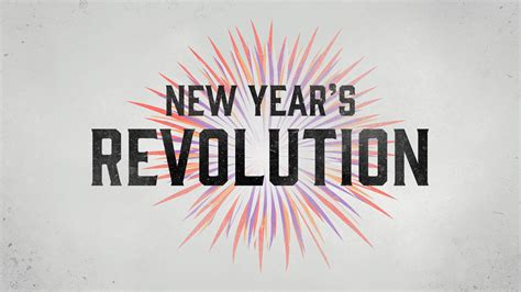 New Year's Revolution! The first of 4 large trade events in 2018